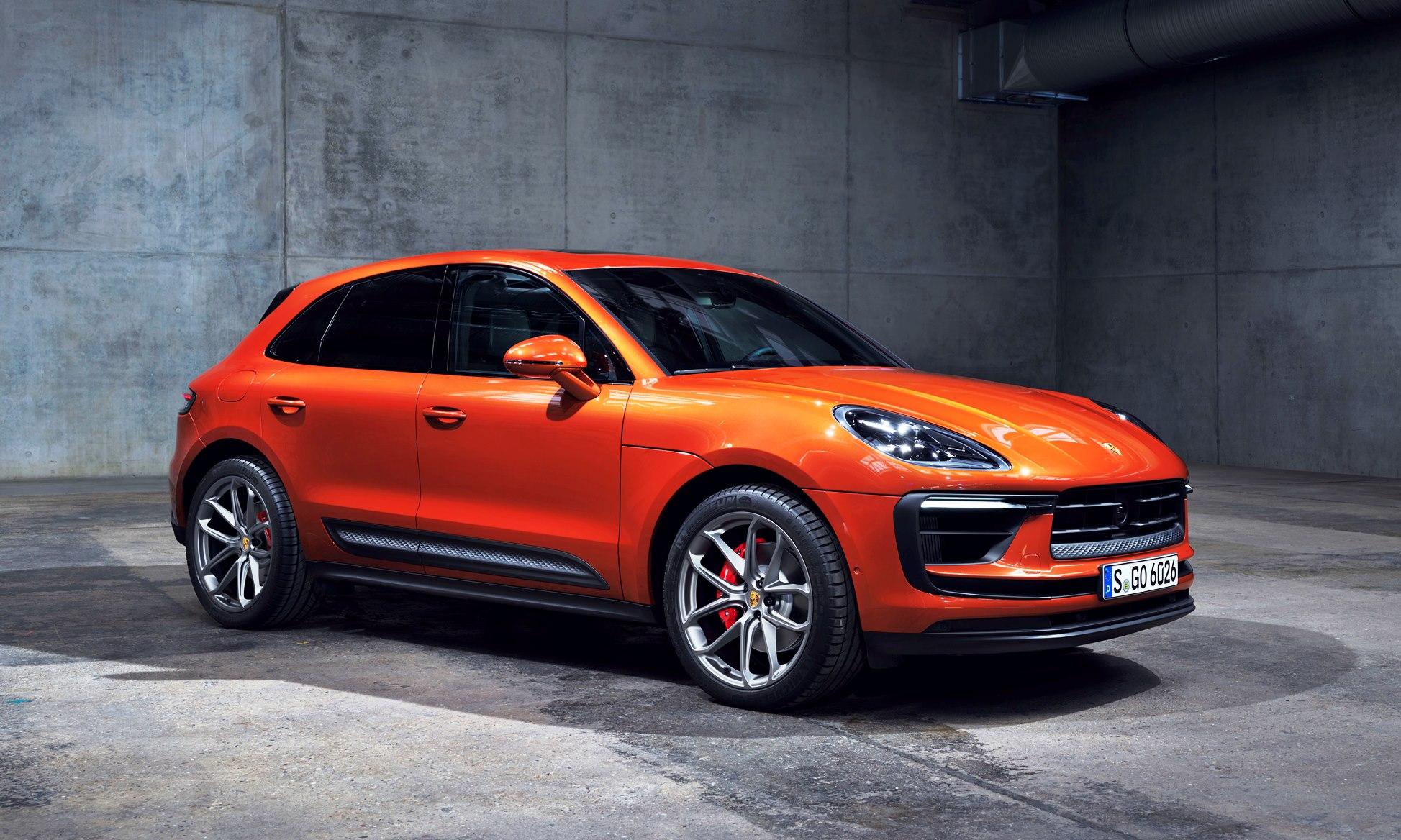 Updated Porsche Macan
