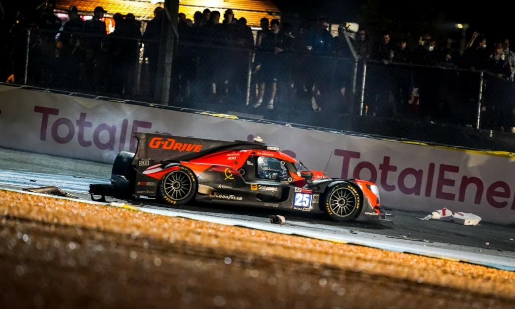 LMP2 crash