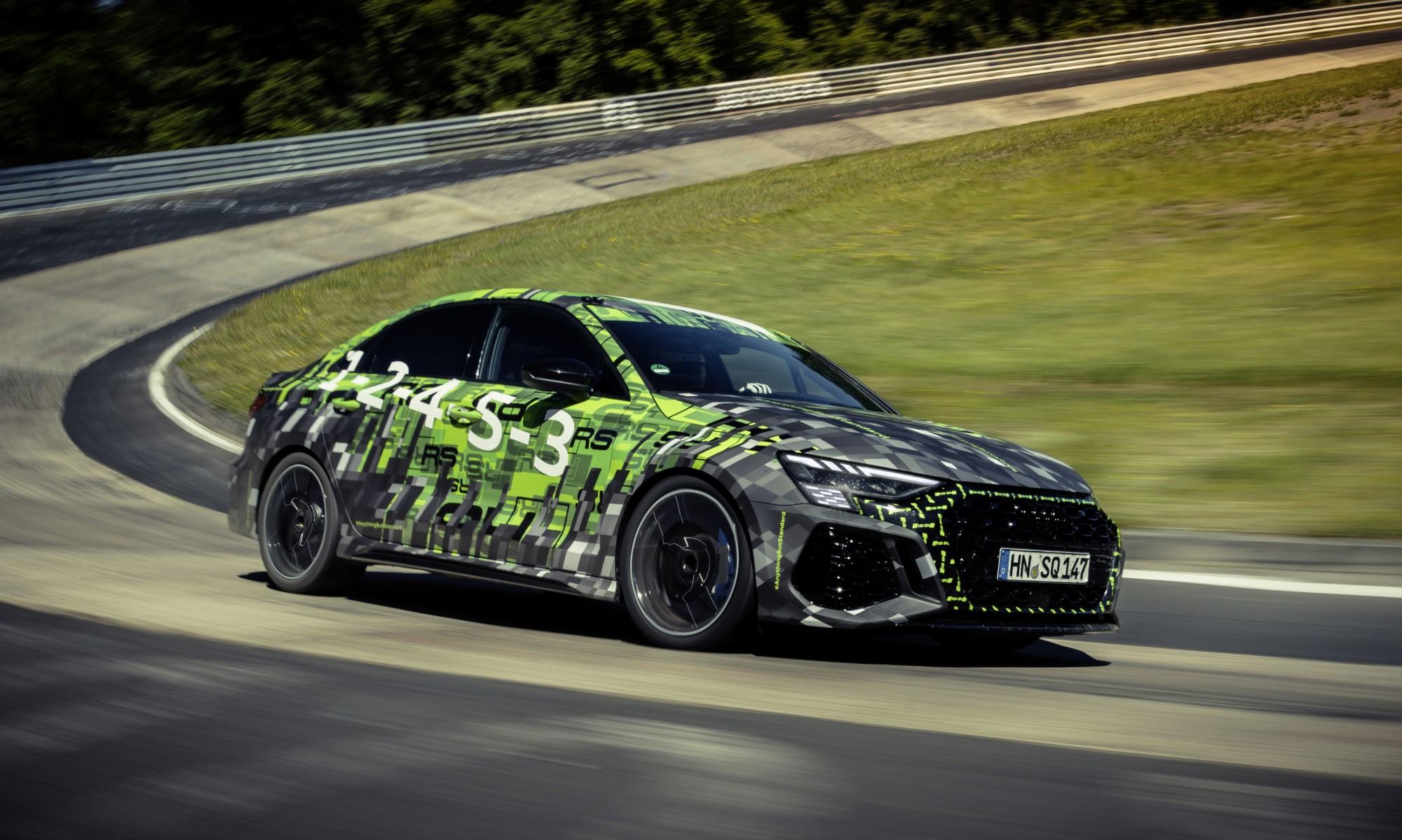 Audi RS3 Claims Nurburgring Lap Record 2