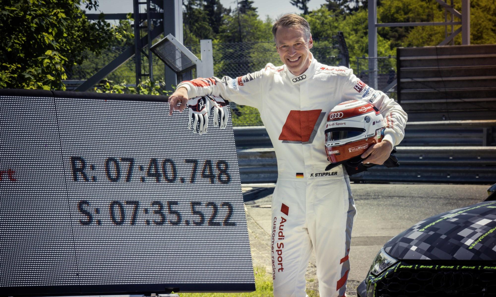 Audi RS3 Claims Nurburgring Lap Record 3