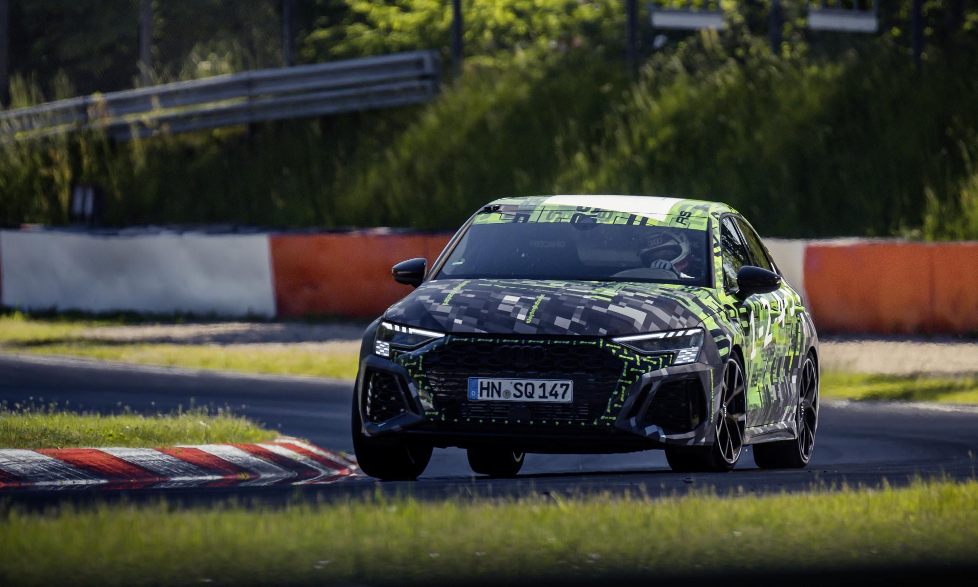 Audi RS3 Claims Nurburgring Lap Record 4
