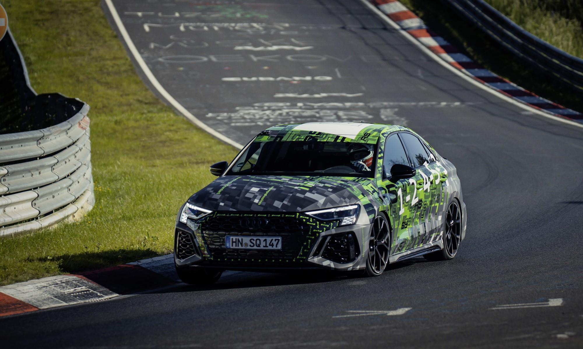 Audi RS3 Claims Nurburgring Lap Record