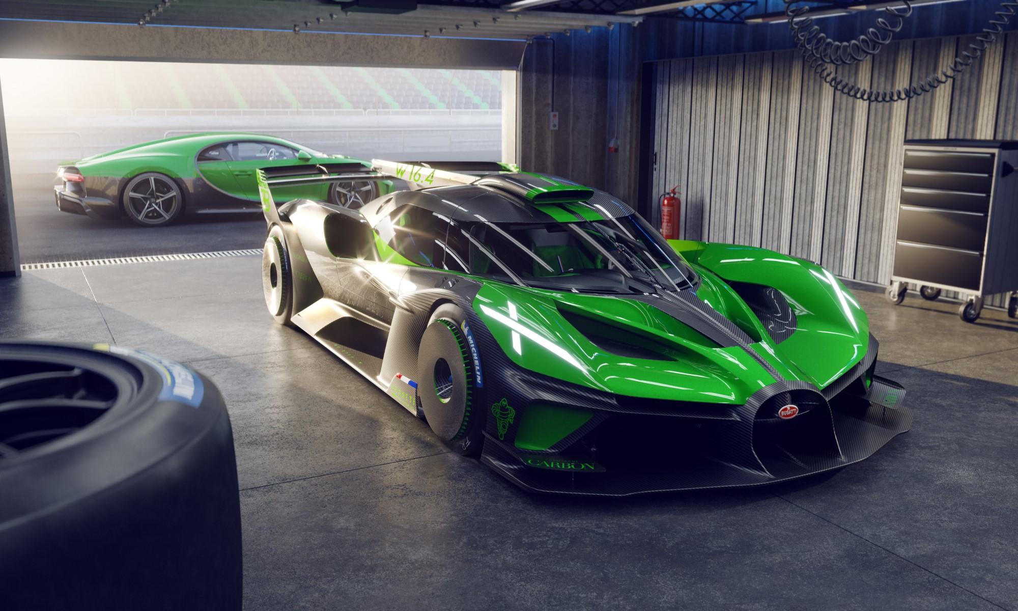Limited Edition Bugatti Bolide (2)