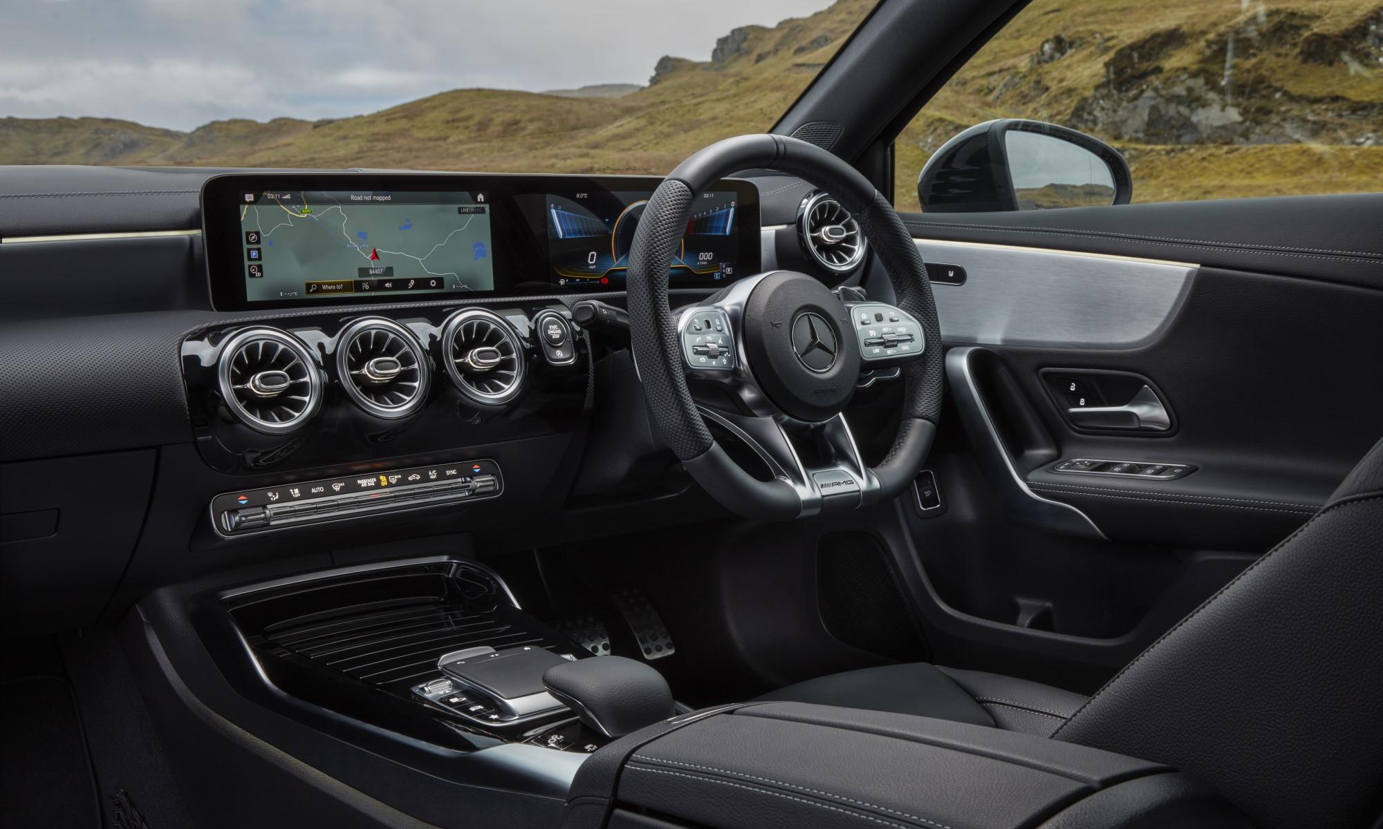 Mercedes-AMG A35 Sedan cabin