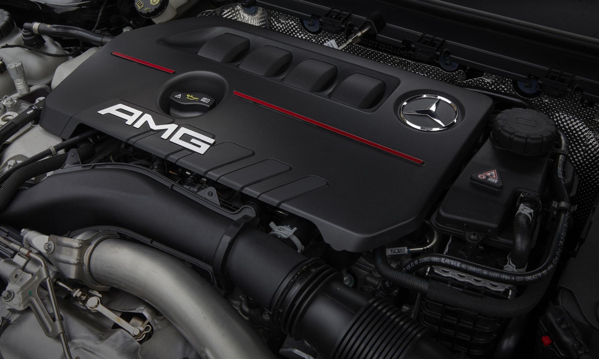 Mercedes-AMG A35 Sedan engine