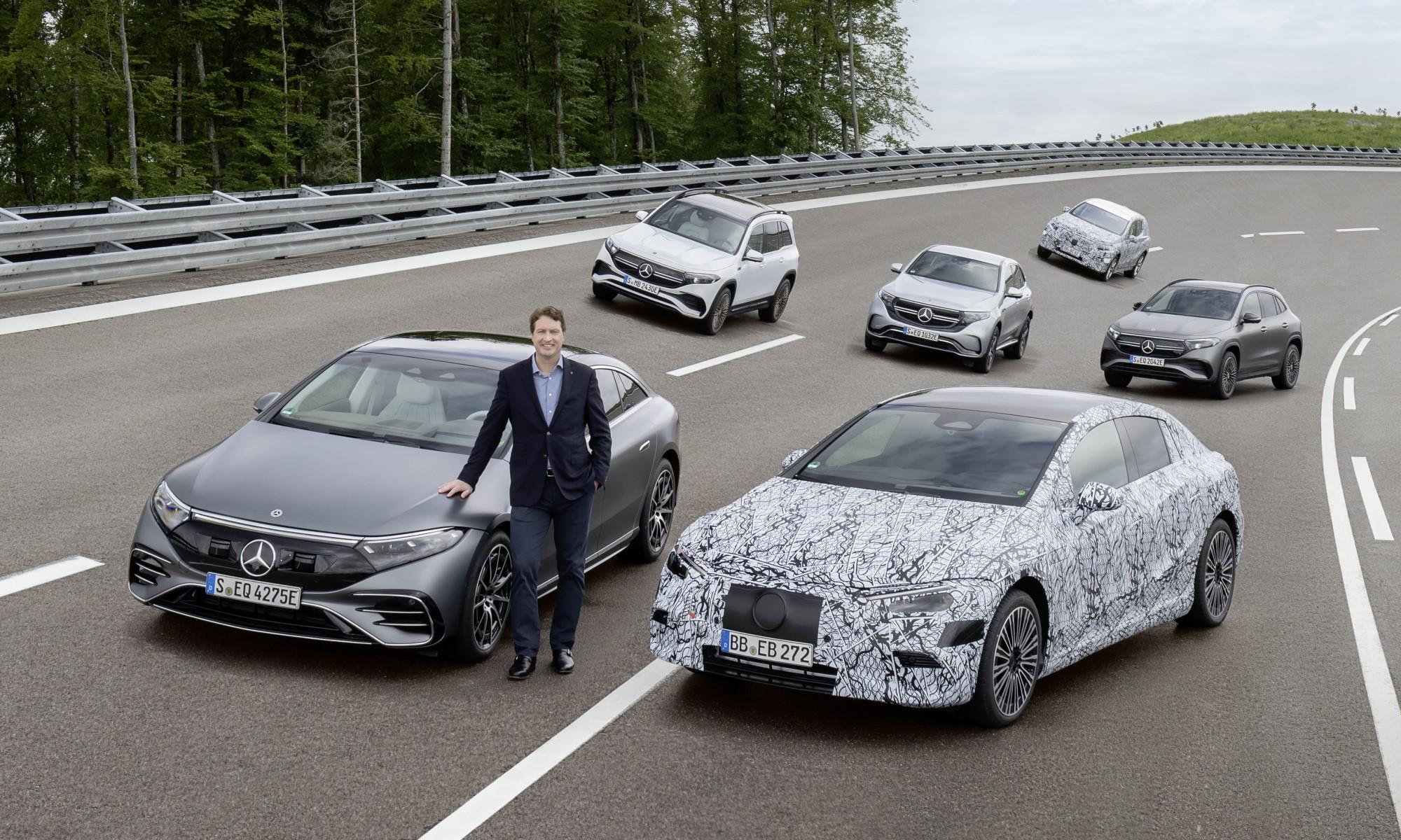 Mercedes-Benz EV Intro Dates