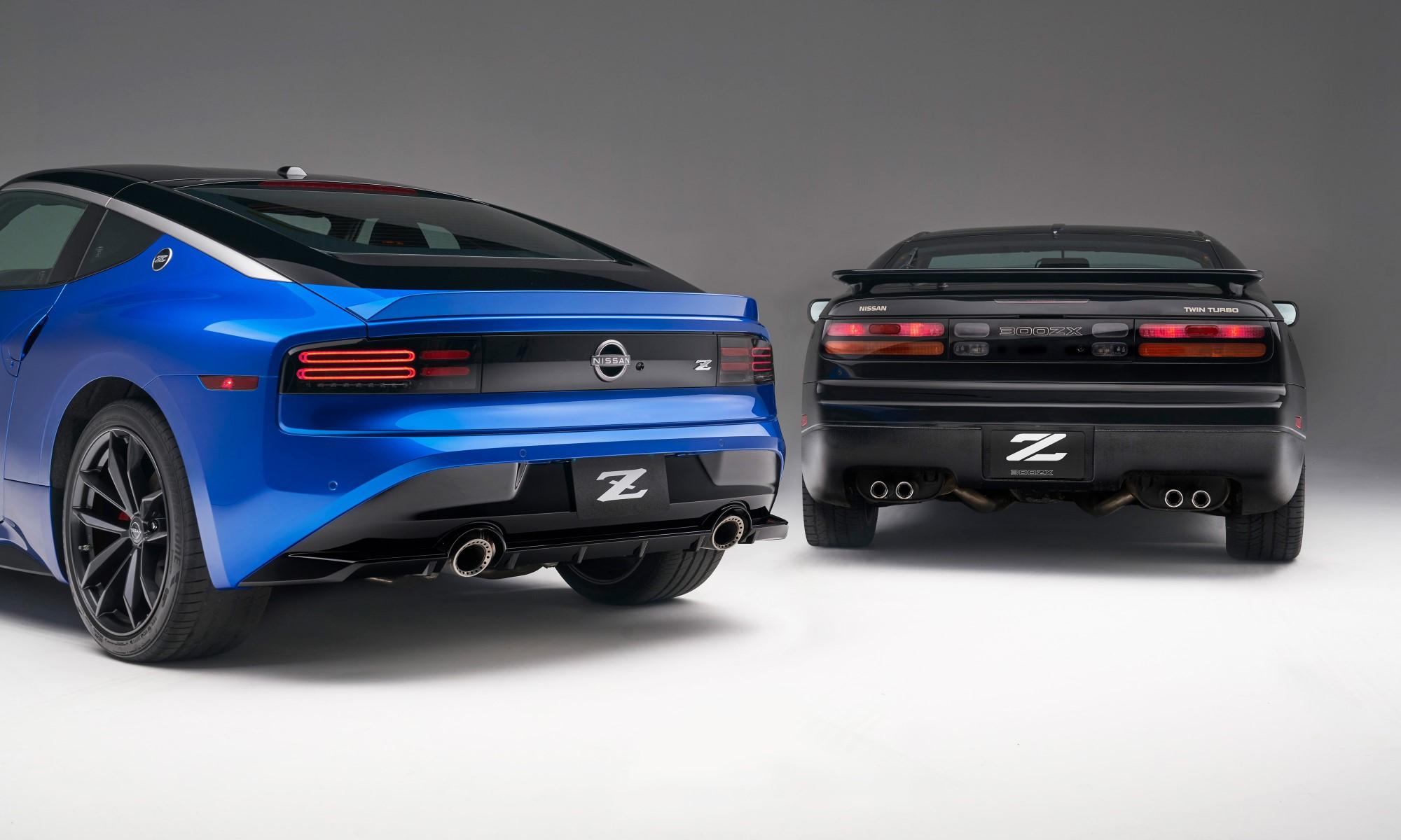 Nissan Z Sportscar with 300 ZX