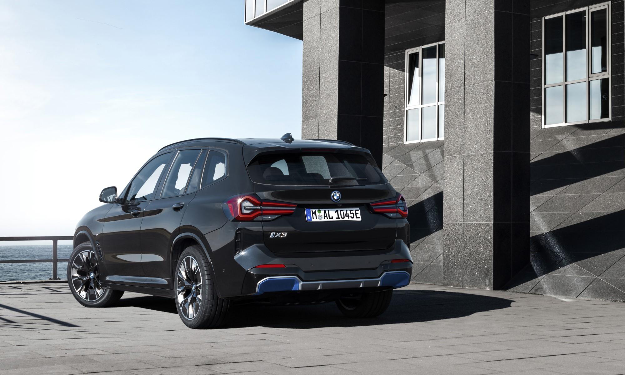 BMW iX3 rear