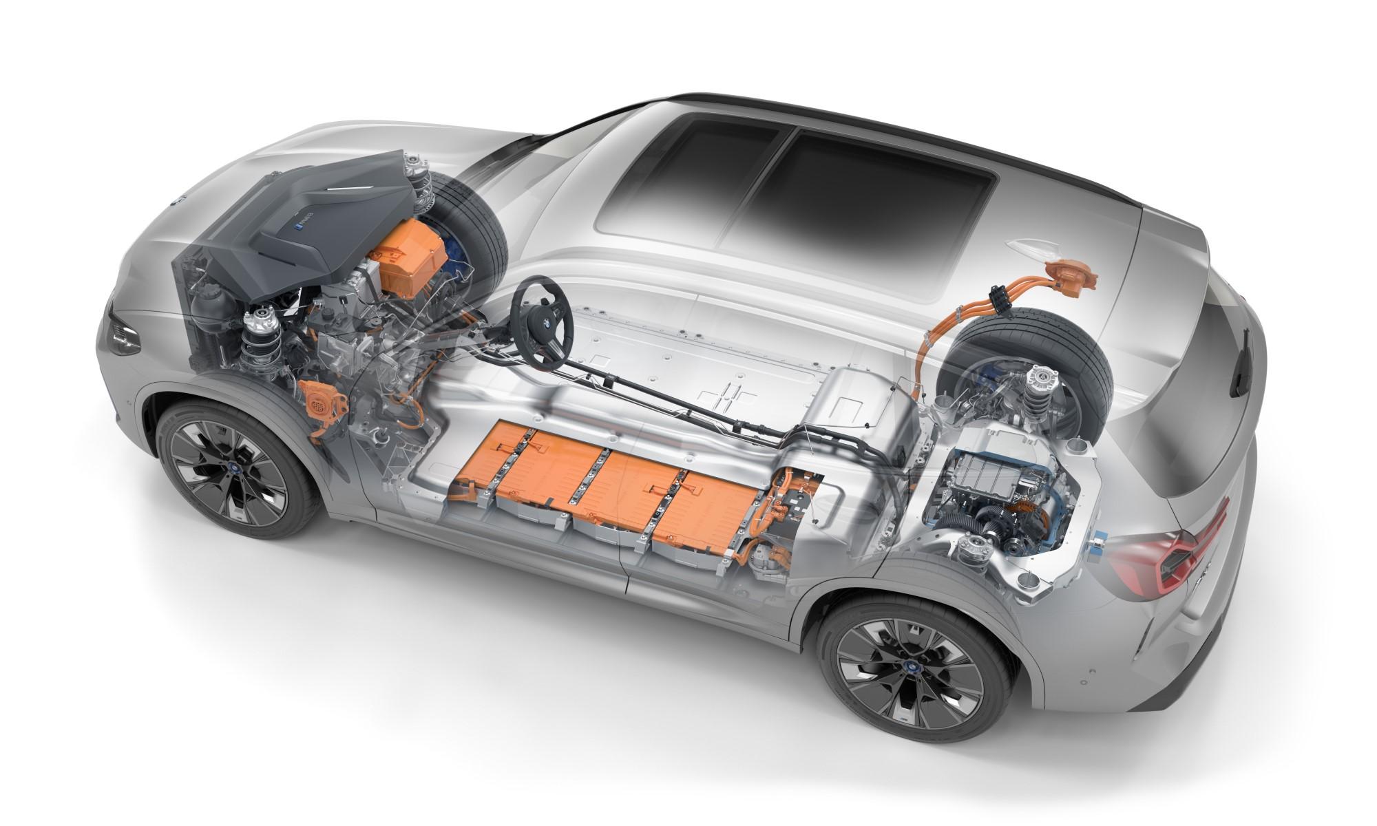 BMW iX3 drivetrain