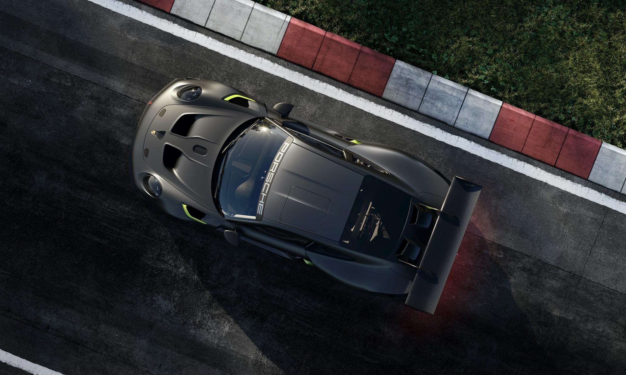 Porsche 911 GT2 RS Clubsport 25 overhead