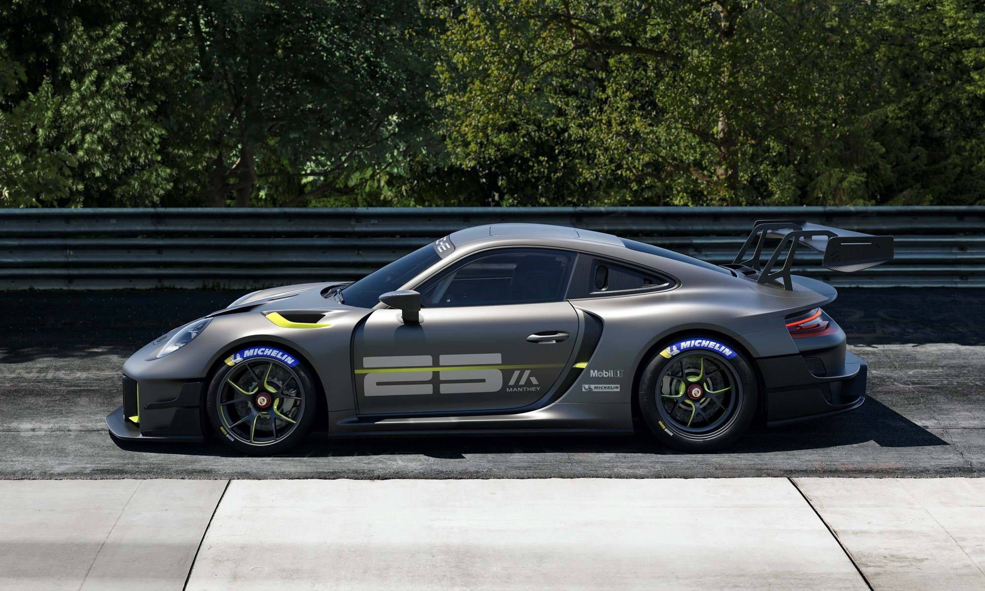 Porsche 911 GT2 RS Clubsport 25 profile