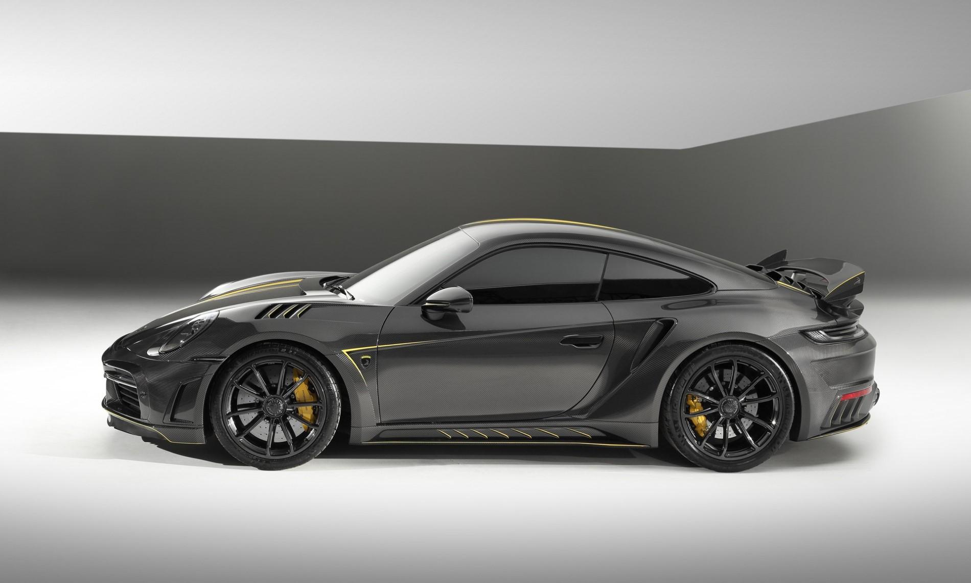 Porsche 992 Stinger GTR Carbon Edition side