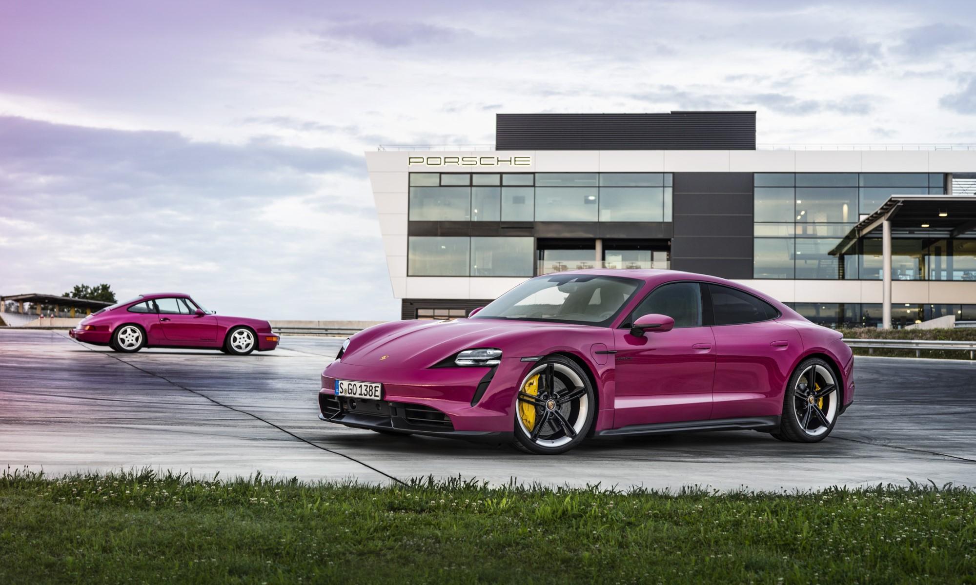 Porsche Expands Taycan Spec 1