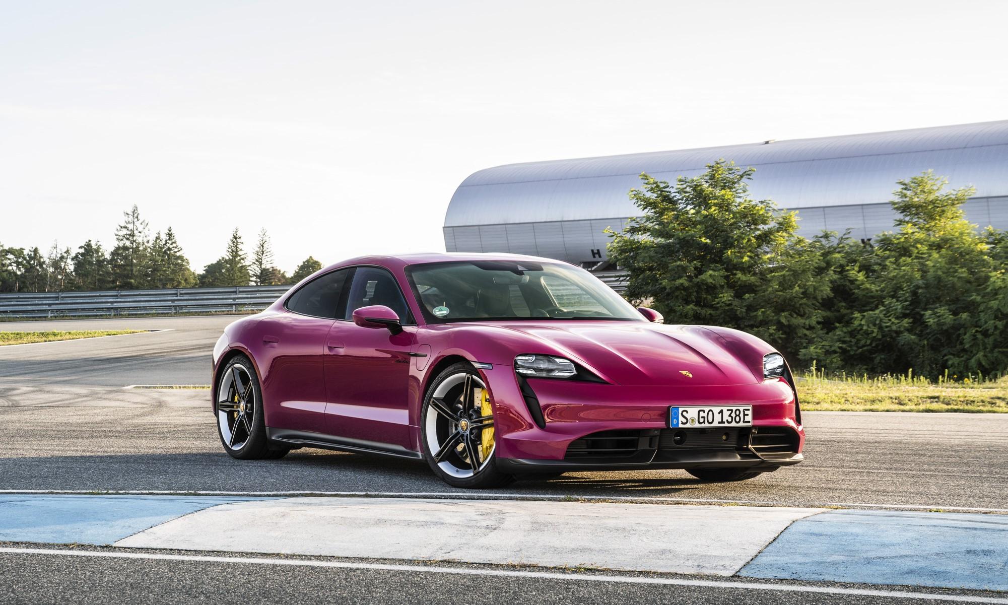 Porsche Expands Taycan Spec list and colours