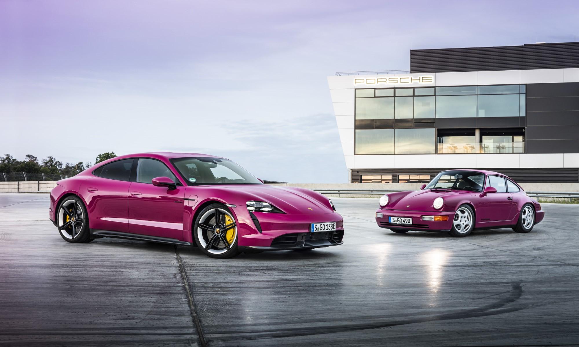 Porsche Expands Taycan Spec