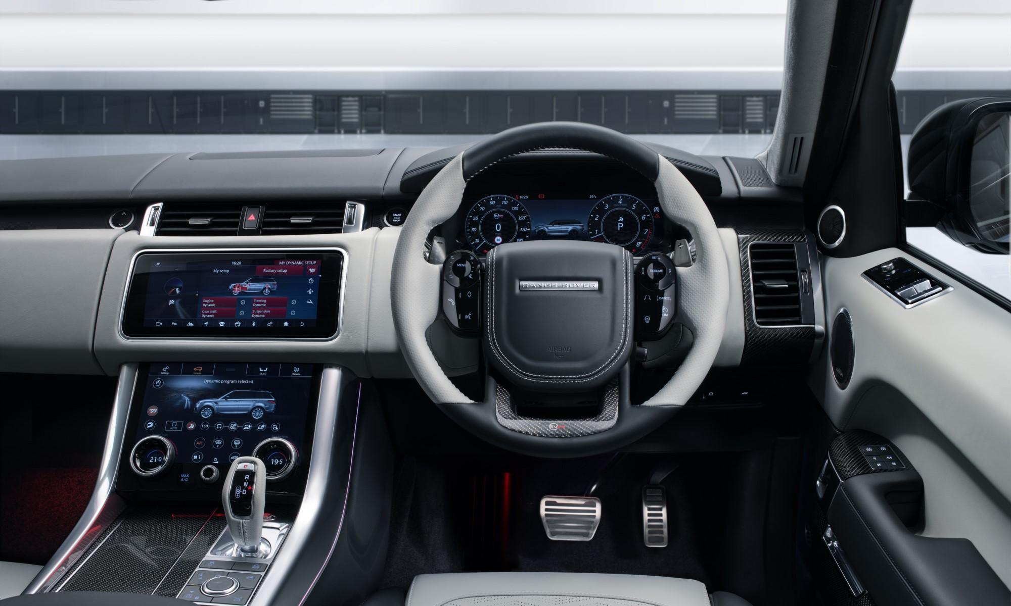Range Rover Sport SVR Ultimate Edition interior