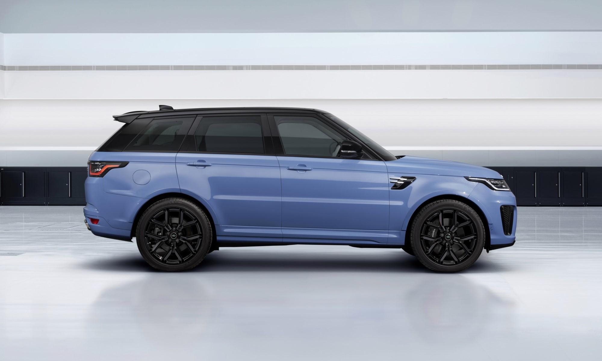 Range Rover Sport SVR Ultimate Edition profile