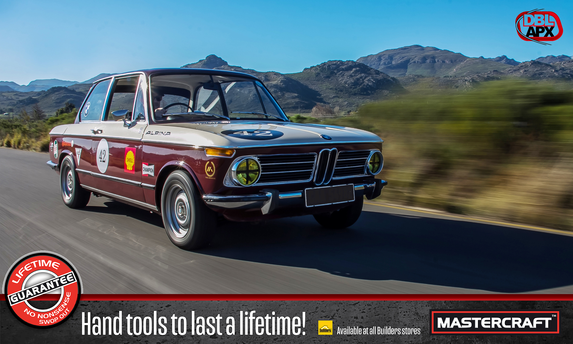 1971 BMW 2002 front tracking