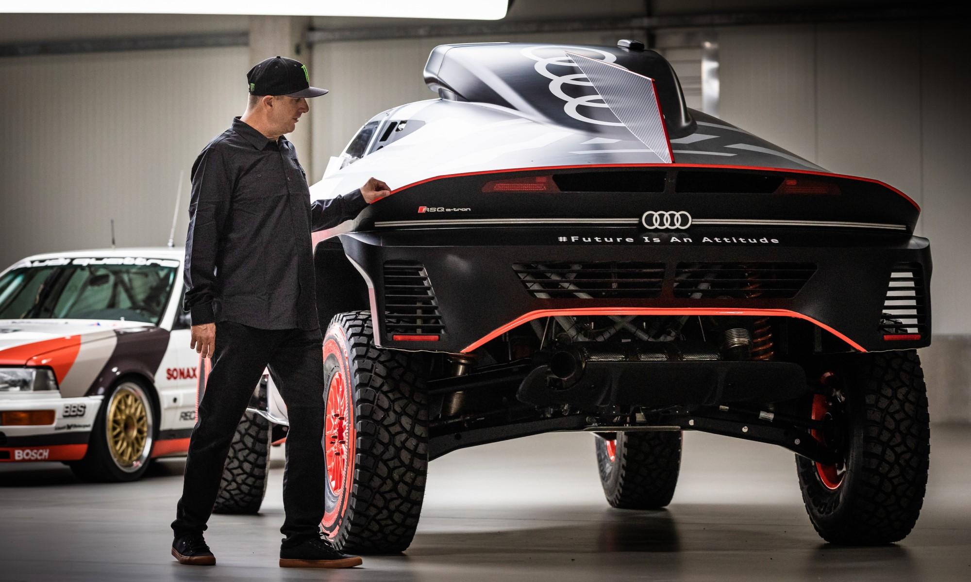 Ken Block joins Audi