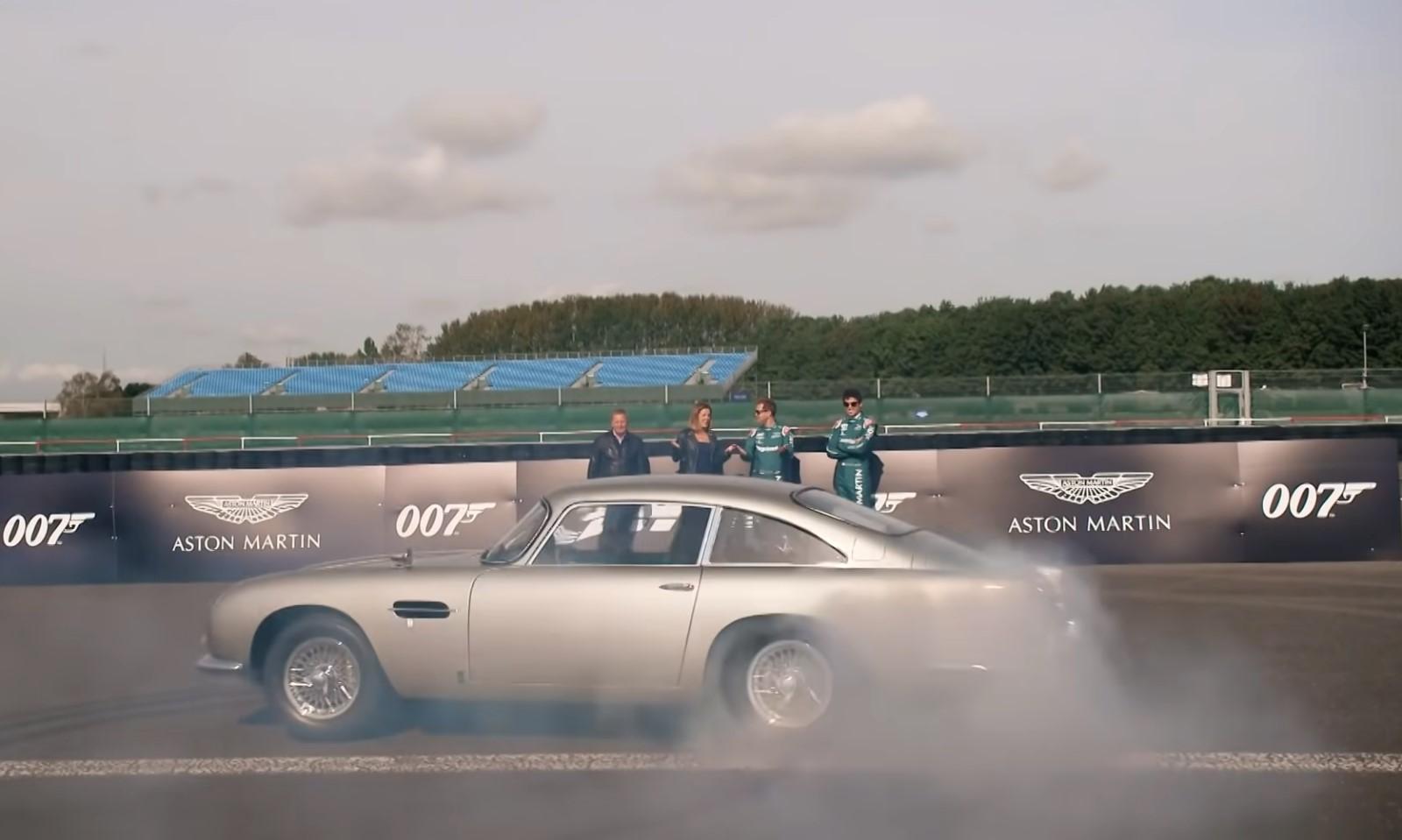 Aston Martin F1 Drivers Channel Their Inner James Bond (4)