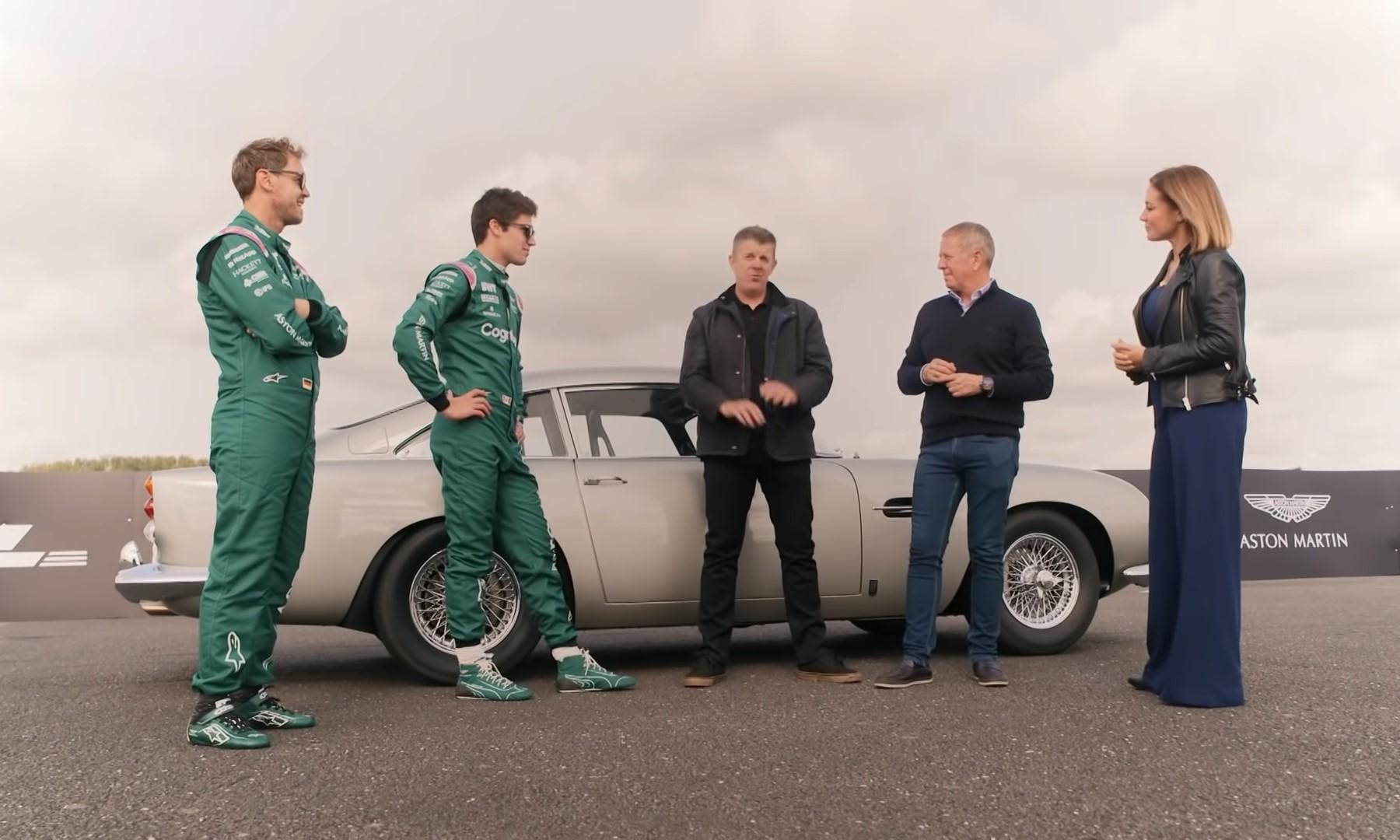 Aston Martin F1 Drivers Channel Their Inner James Bond