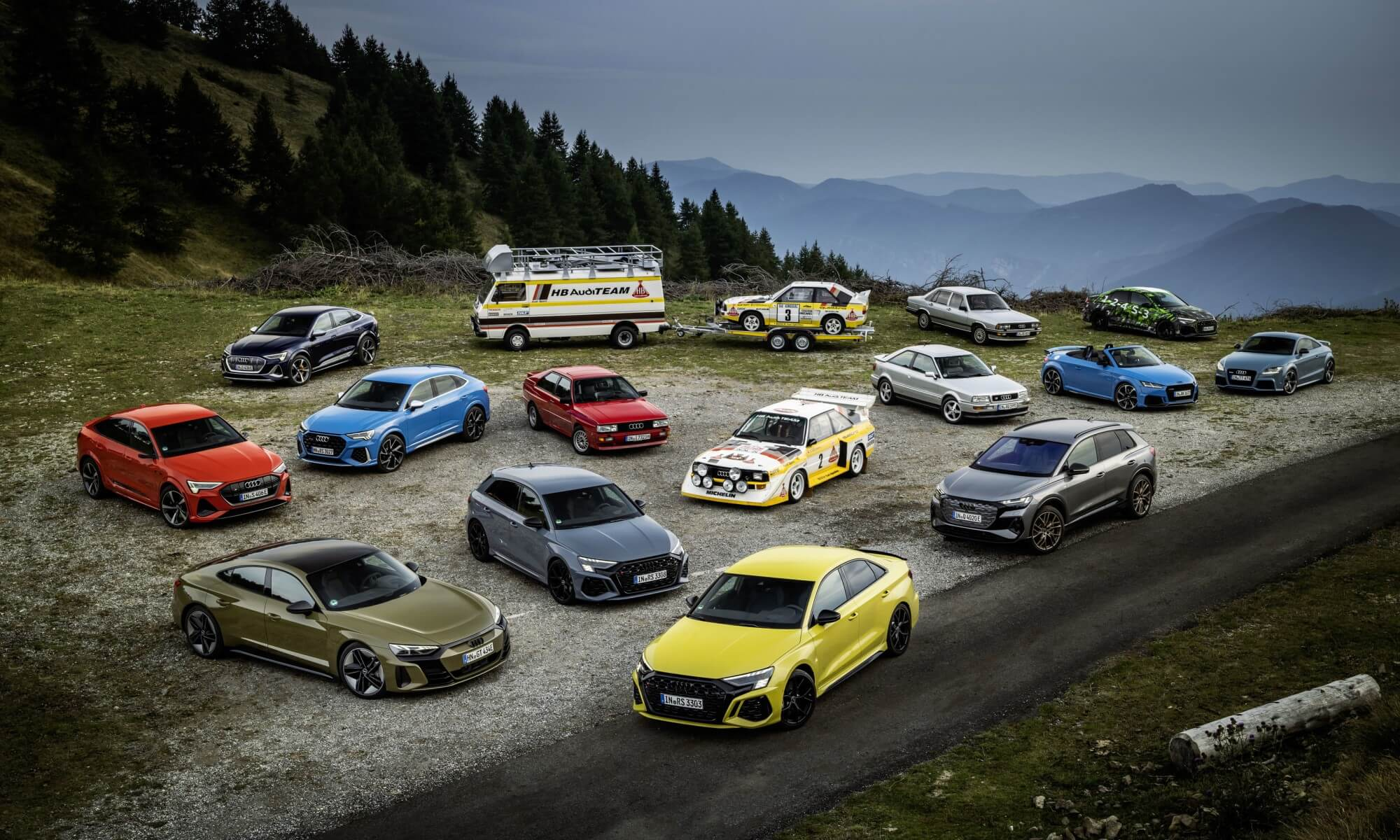 Audi's Quattro technology (2)