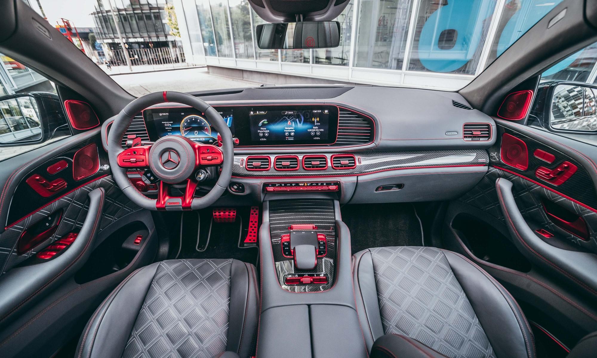 Brabus 900 Rocket Edition GLE interior