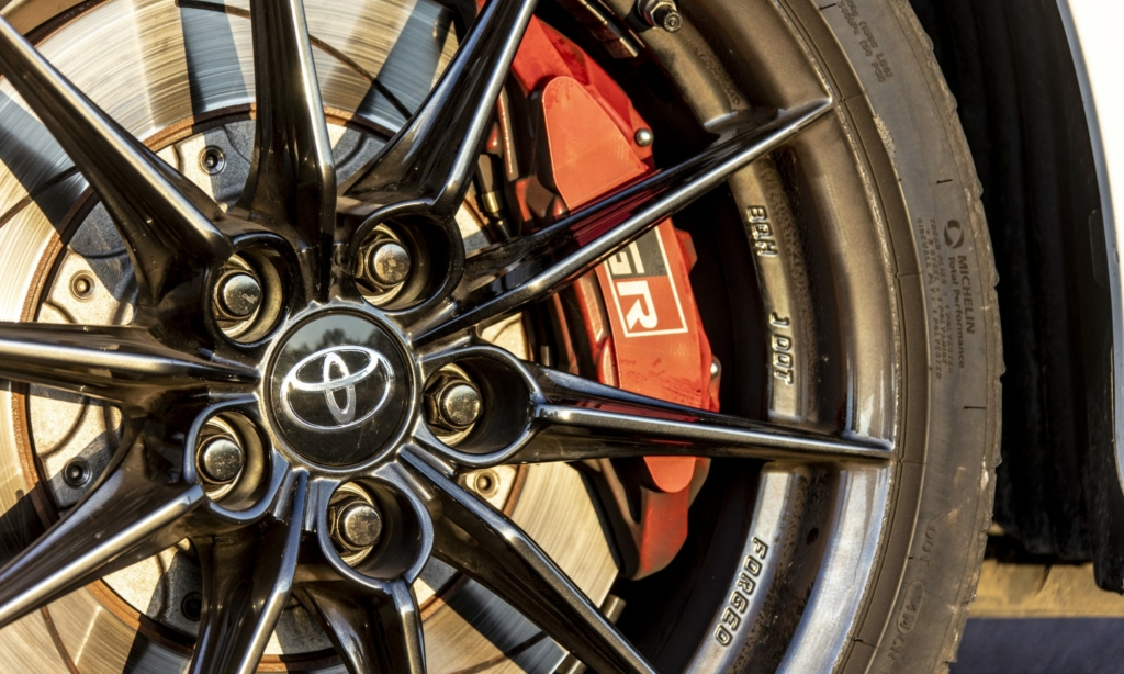 Toyota GR Yaris forged alloy