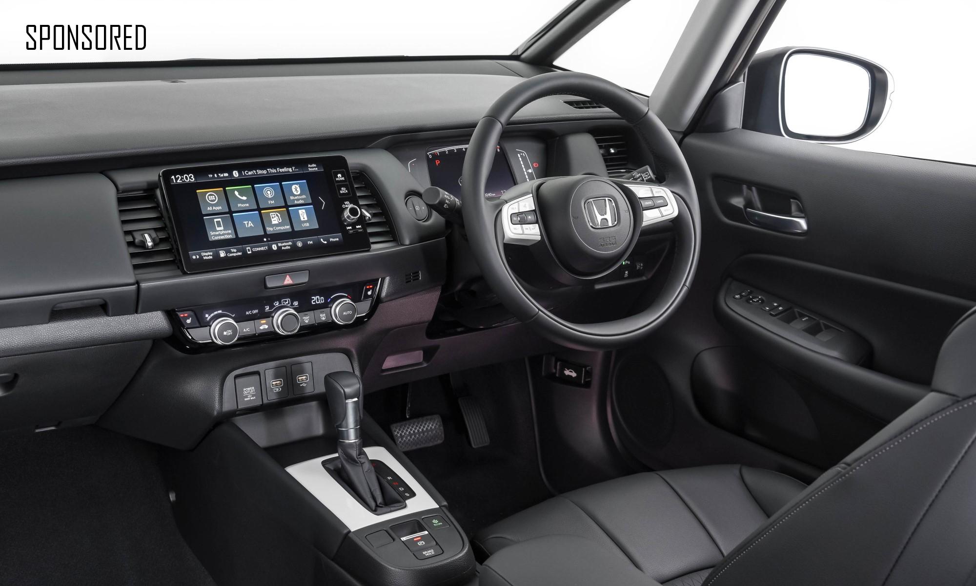 New Honda Fit interior