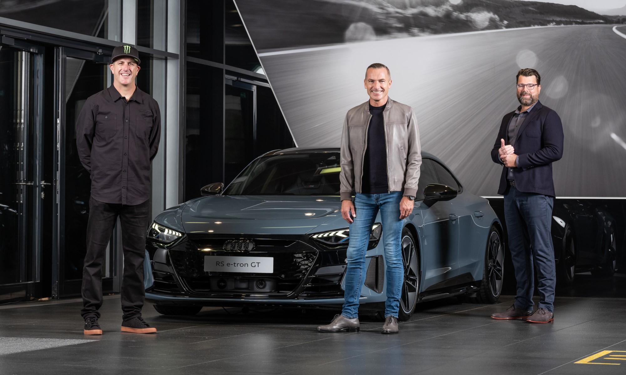 Ken Block Joins Audi 1