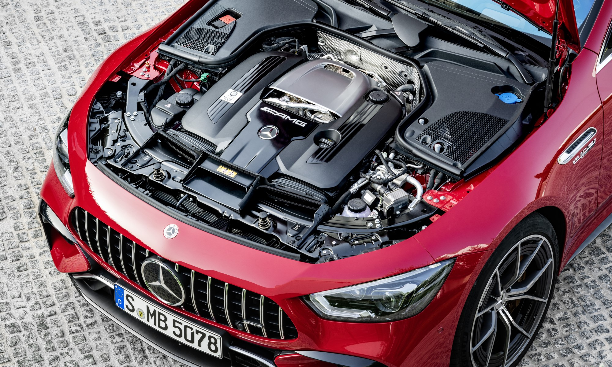 Mercedes-AMG GT63 S E Performance engine
