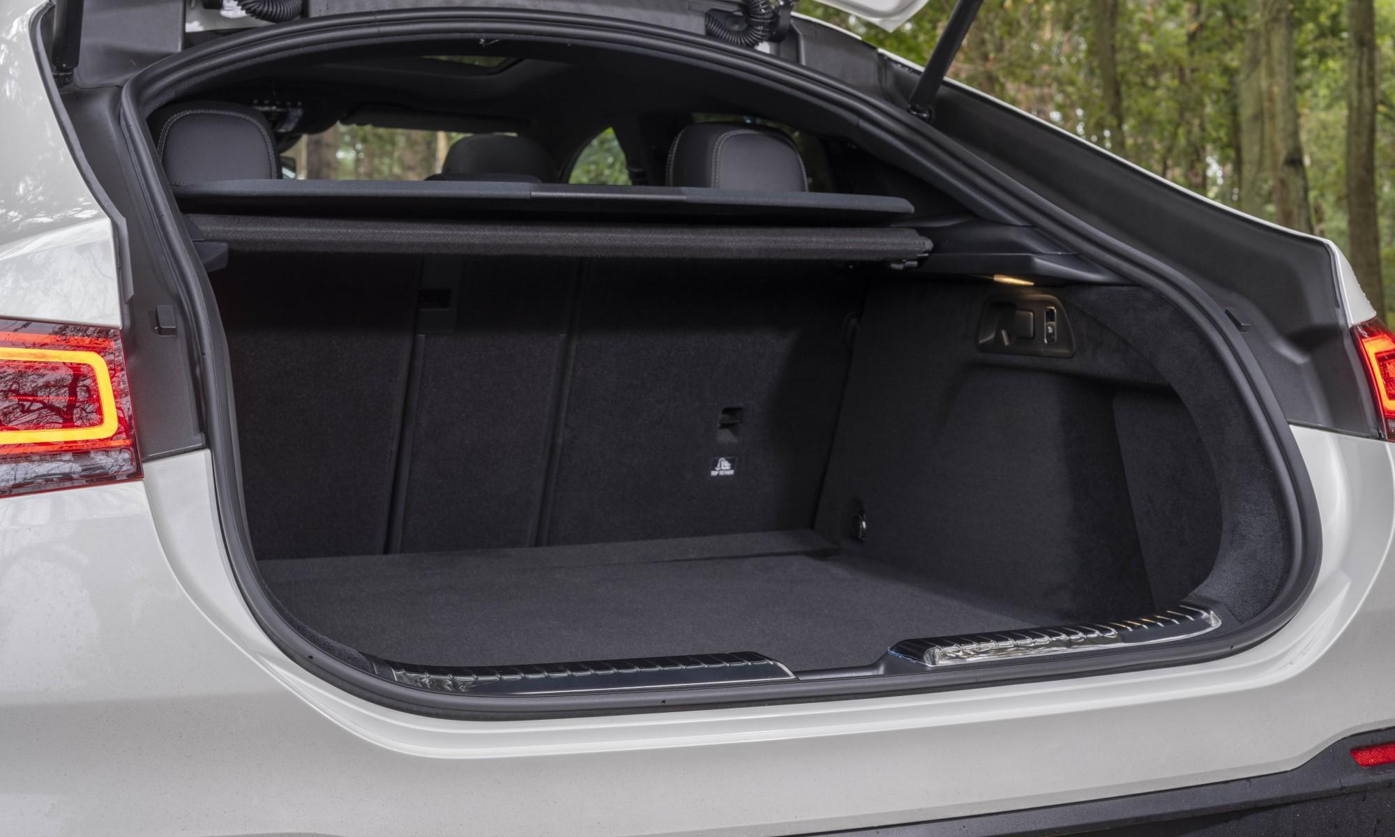 Mercedes-Benz GLE400d Coupé boot