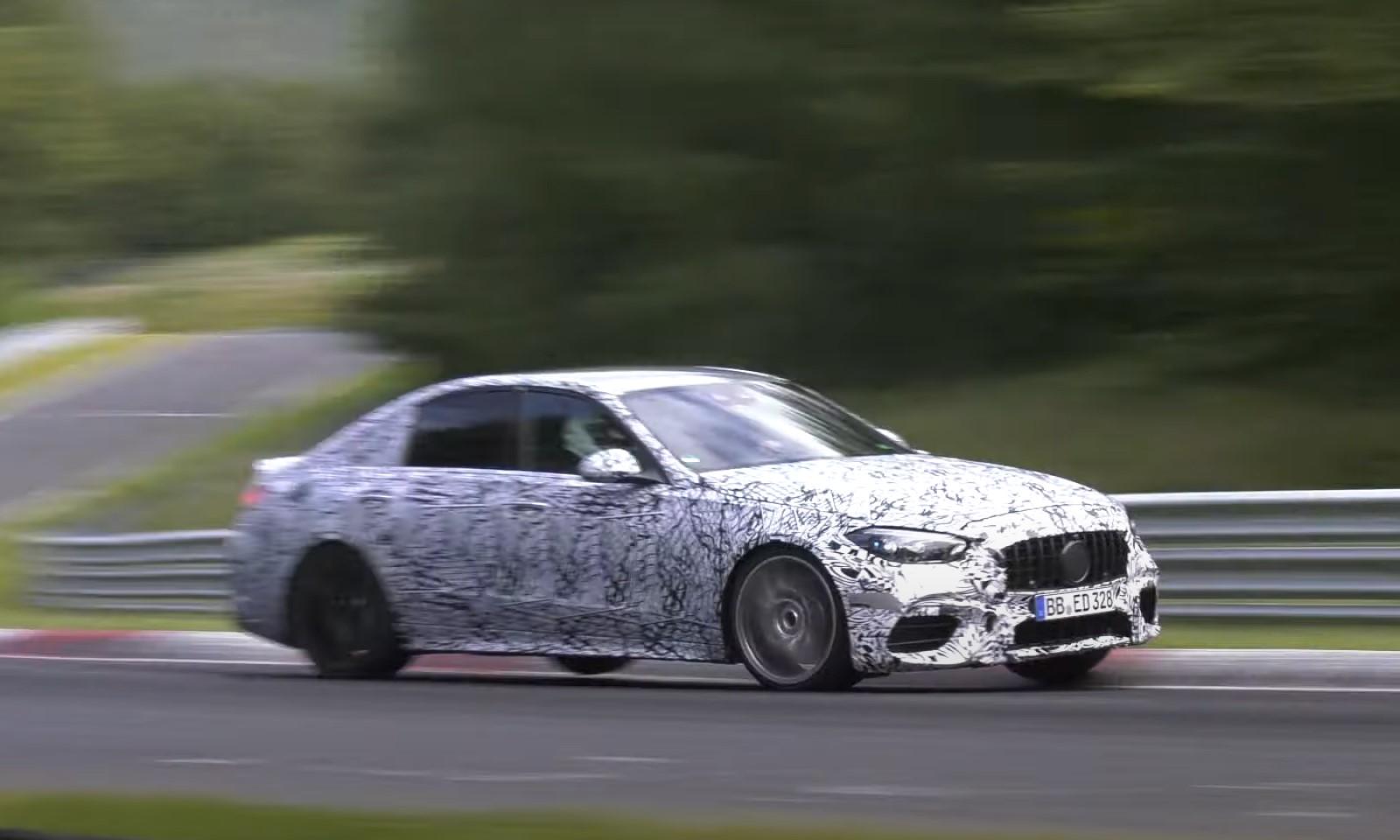New Mercedes-AMG C63 Testing