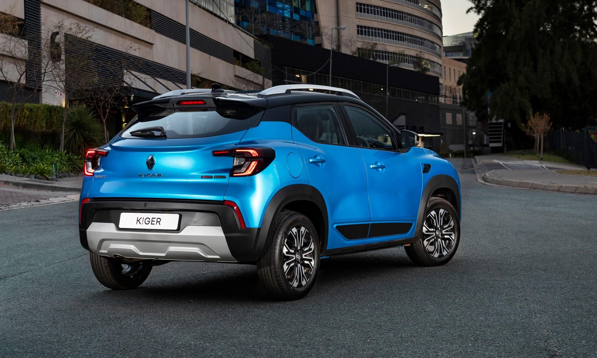 Renault Kiger rear