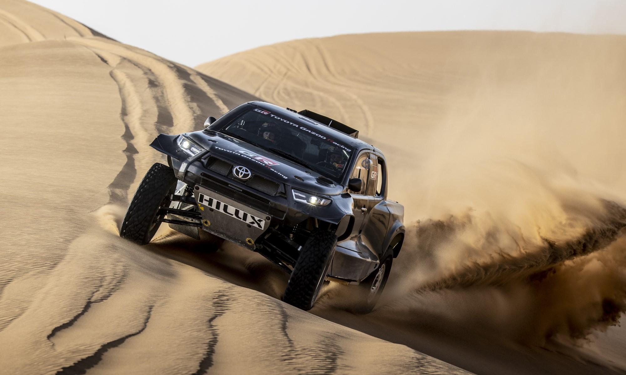Toyota GR DKR Hilux T1+ Racer Unveiled