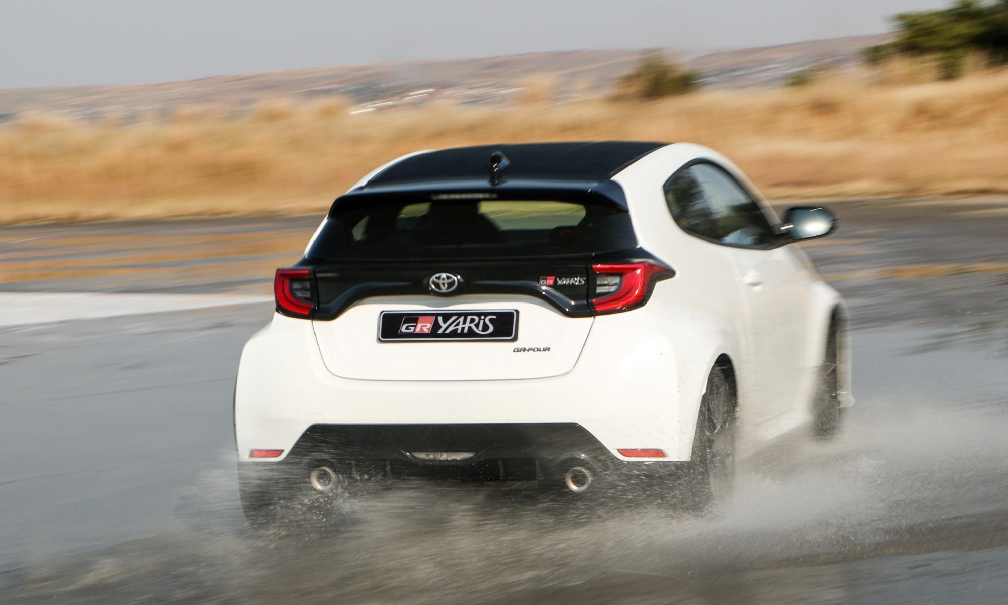 Toyota GR Yaris rear