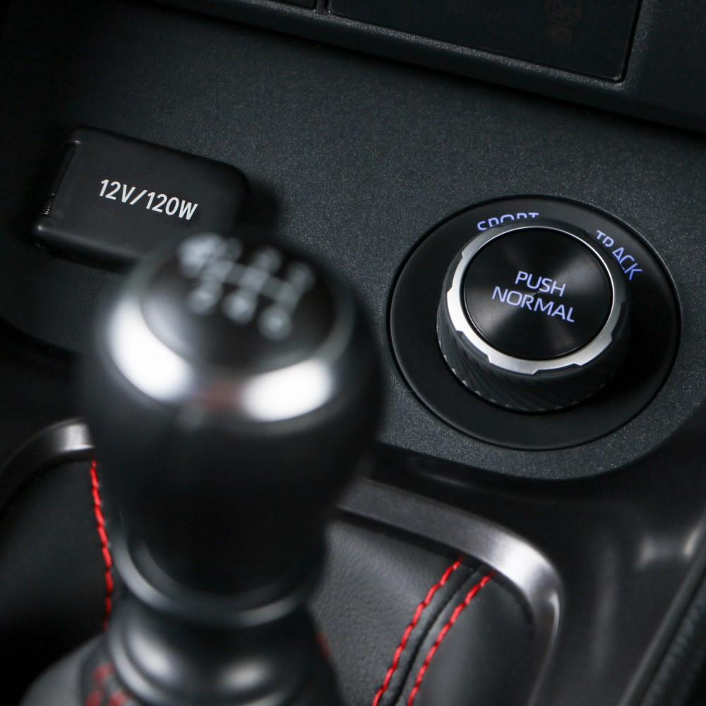 Toyota GR Yaris drivetrain dial