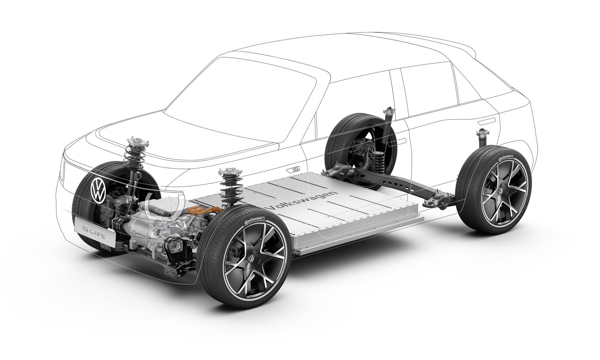VW ID.Life drivetrain