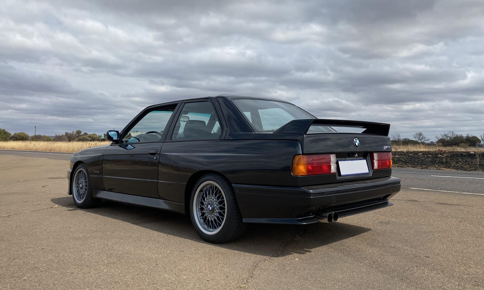 E30 BMW M3 rear