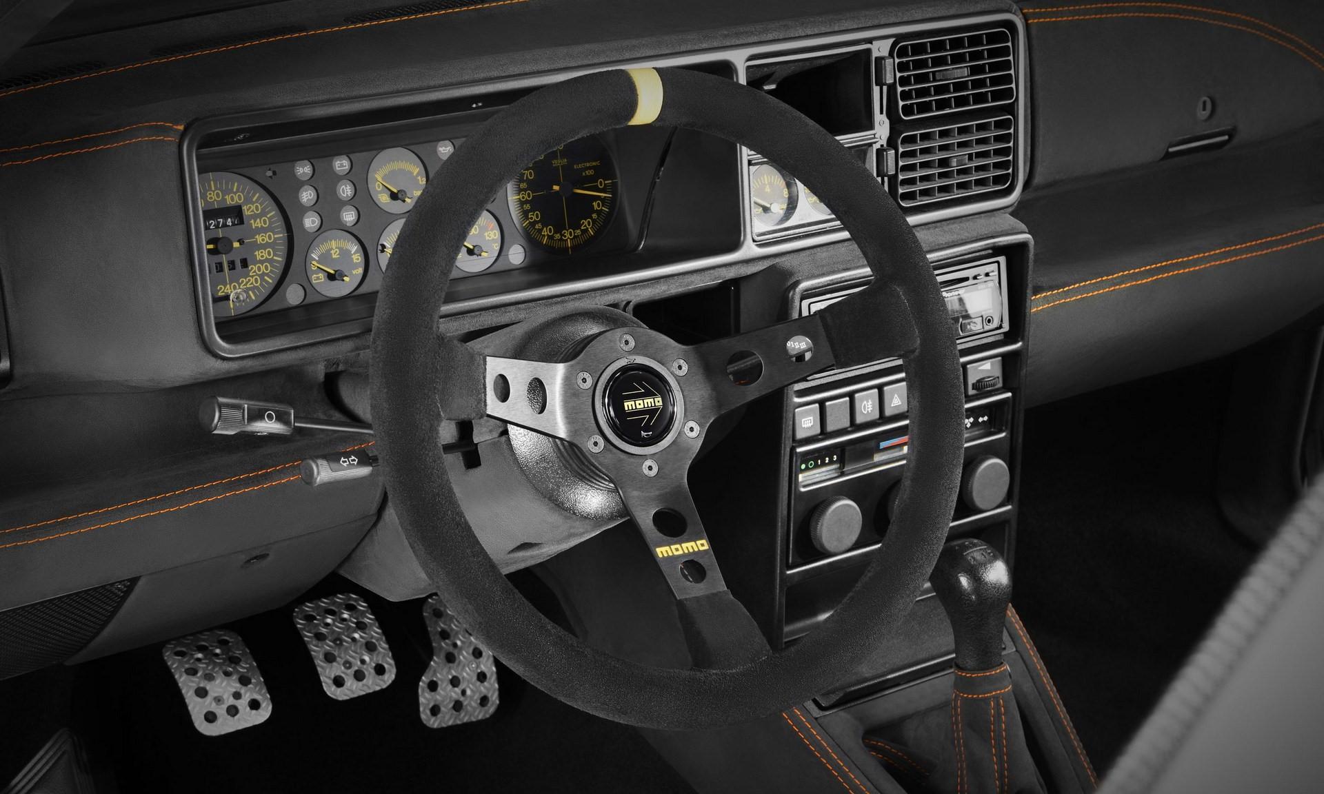 Lancia Delta Evo-e by GCK Exclusiv-e interior