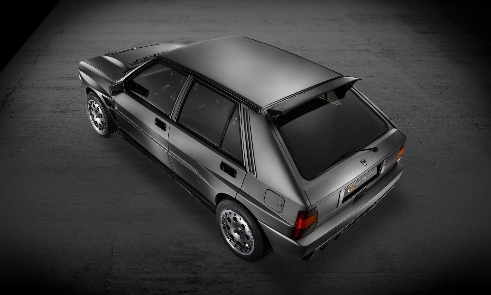 Lancia Delta Evo-e by GCK Exclusiv-e rear