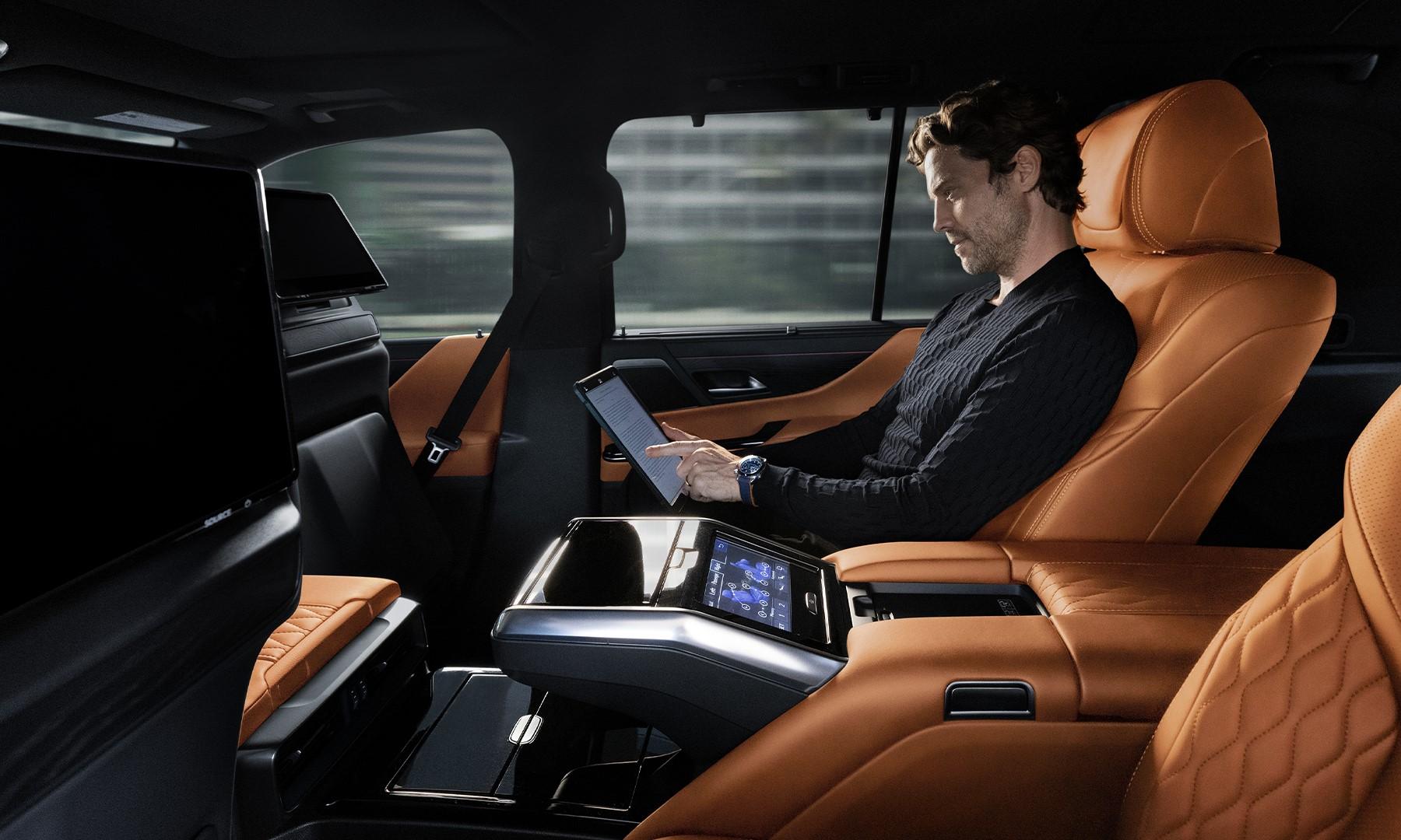 Lexus LX VIP seating