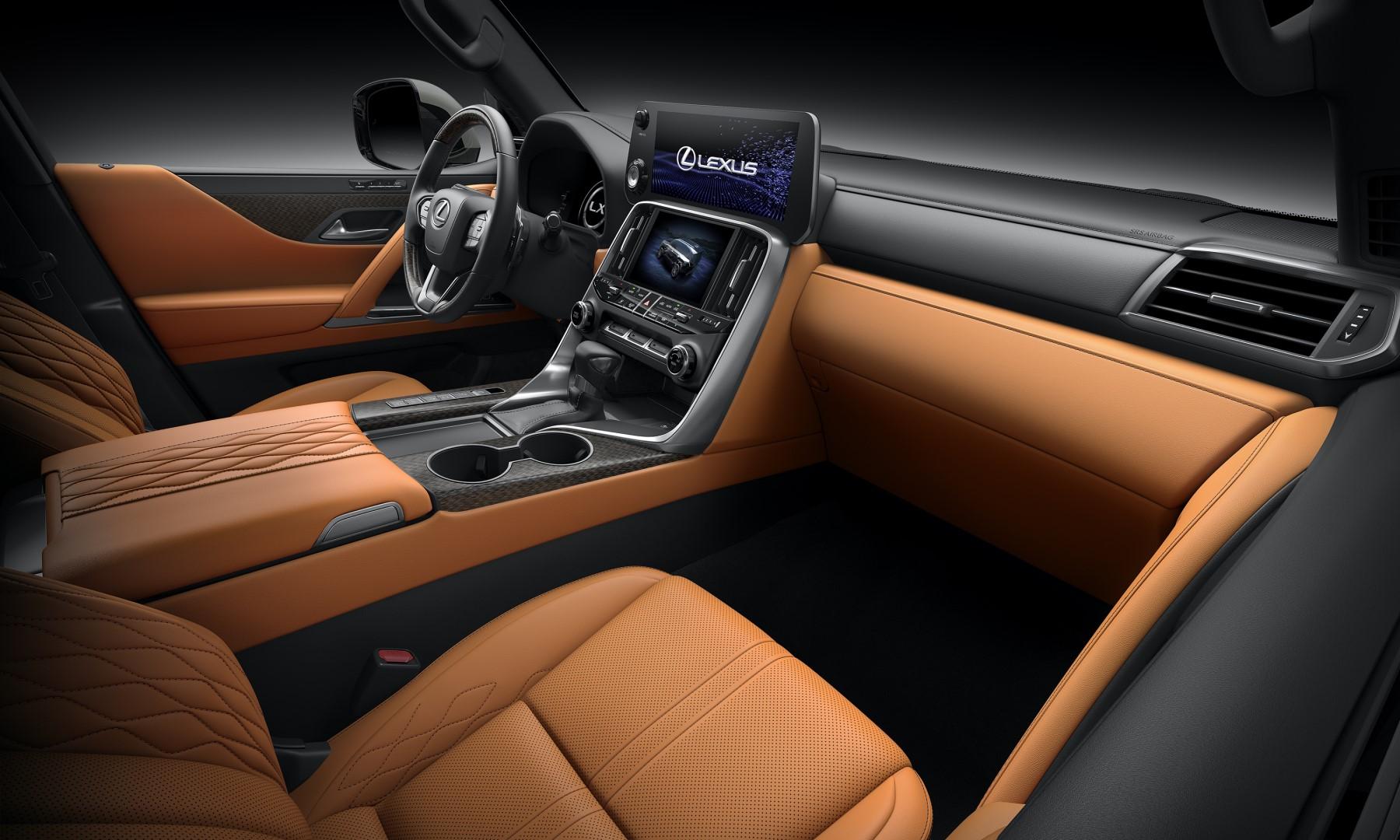 Lexus LX interior