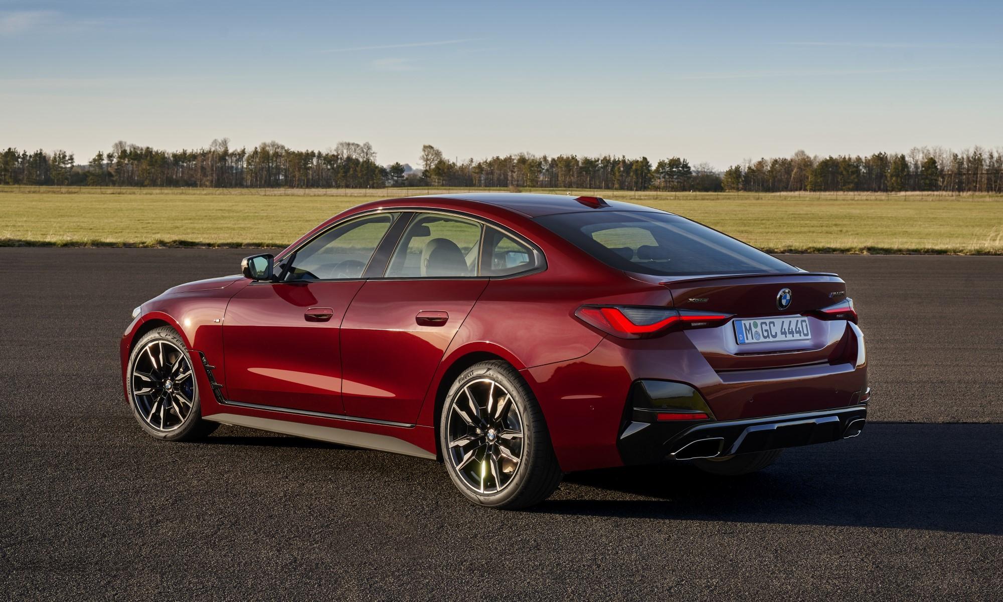New BMW Models BMW 4 Series Gran Coupe rear