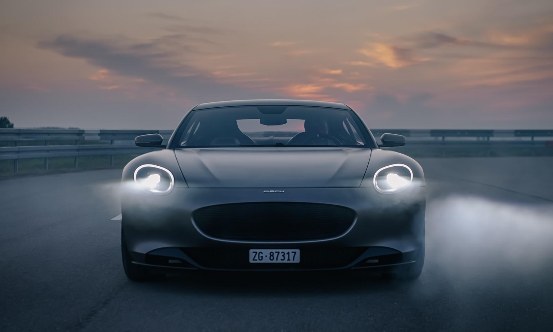 Piech GT EV front