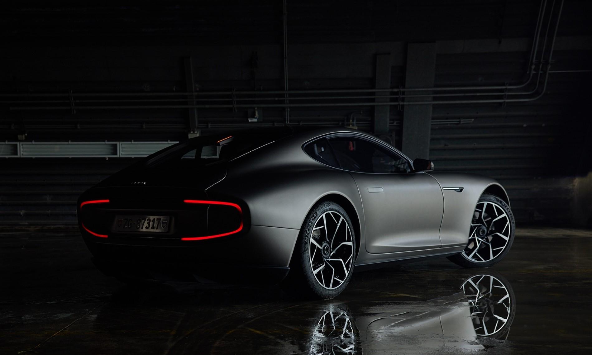 Piech GT EV rear