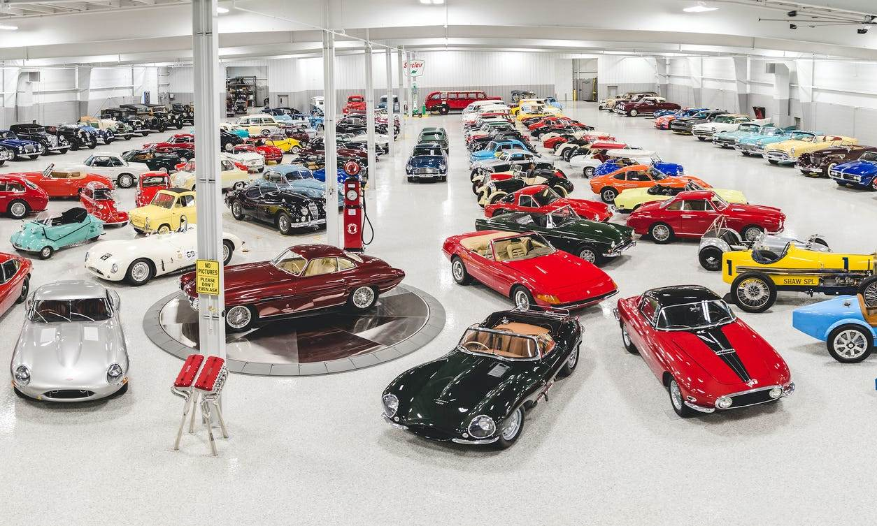 240 car collection warehouse