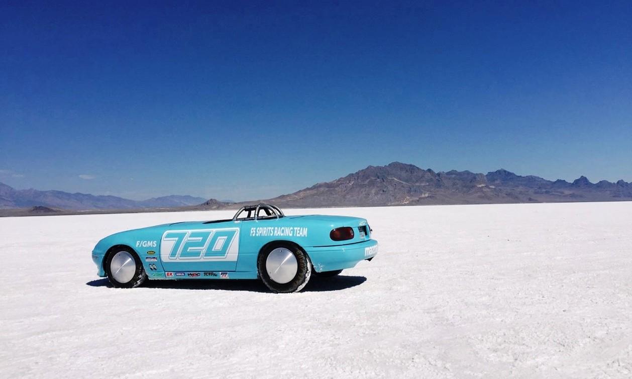 280 km/h Mazda MX-5