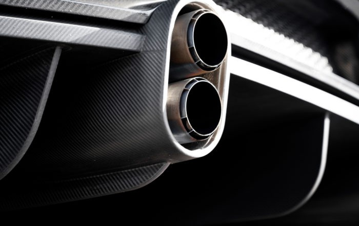 The revised exhaust system allows for a longer, flatter and more effective rear diffuser to be used.
