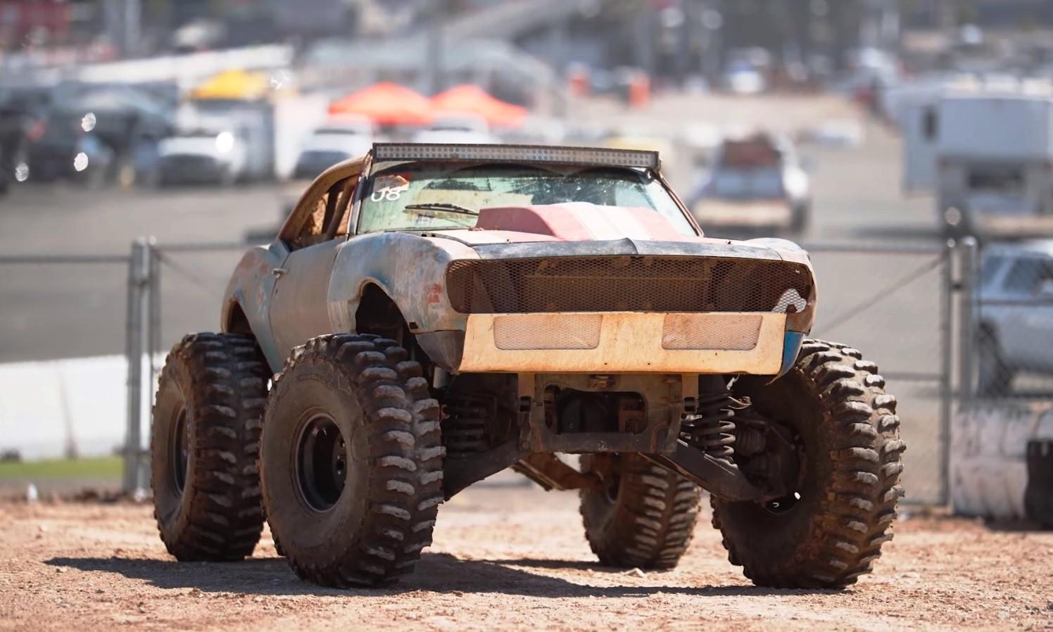 4x4 Chev Camaro front
